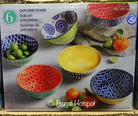 Certified Chelsea Set of 6 Porcelain Bowls at Costco