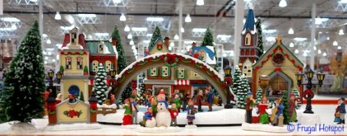 Christmas Village with Lights and Music | Costco Christmas Decoration 2018