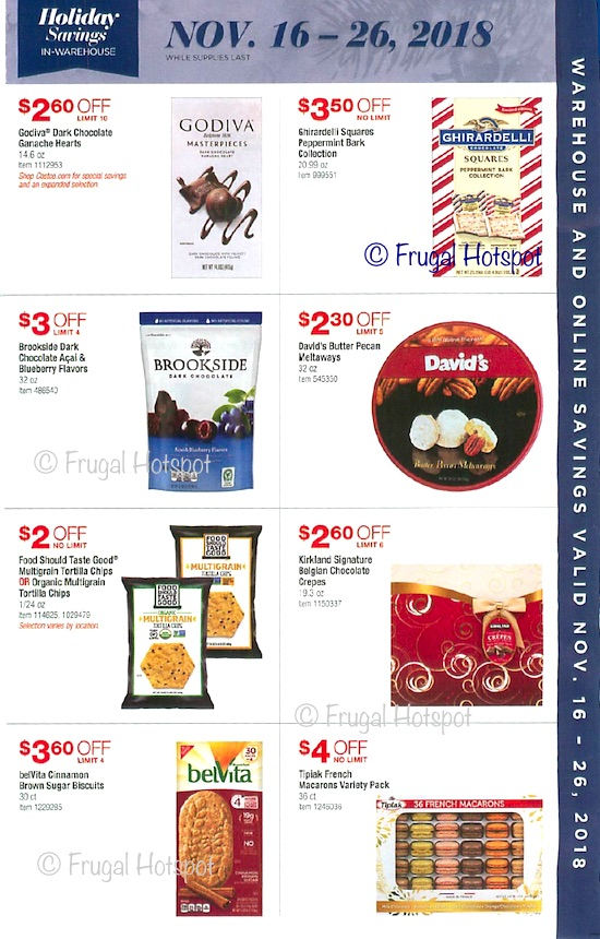 Costco Holiday Savings 2018 Coupon Book Page 11