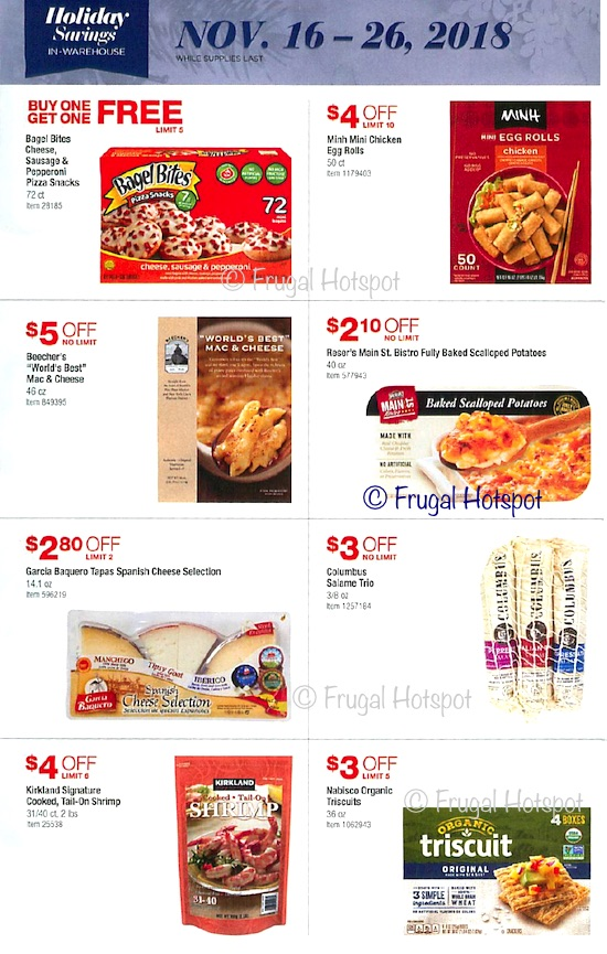 Costco Holiday Savings 2018 Coupon Book Page 12