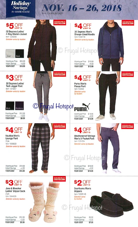 Costco Holiday Savings 2018 Coupon Book Page 22