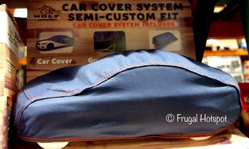 Costco Display: Covercraft Wolf Semi-Custom Fit Blue Denim Car Cover