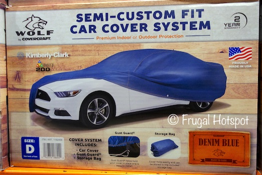 Covercraft Wolf Semi-Custom Fit Blue Denim Car Cover at Costco