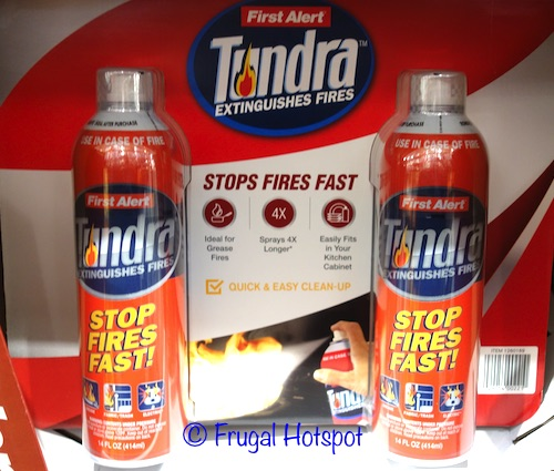 First Alert Tundra Fire Extinguisher 2-Pack at Costco