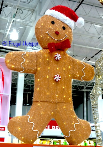 Gingerbread Man with LED Lights | Costco Christmas Decoration 2018