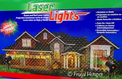 Green and Red Laser Lights 2-Pack | Costco Christmas Decor 2018
