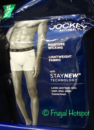 28152ef9c8 Costco Sale  Jockey Active Blend Boxer Briefs 4-Pk  11.99
