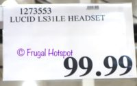 Costco Price: LucidSound LS31LE Wireless Gaming Headset