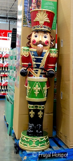 Nutcracker with Music and LED Lights 6 Ft. Costco
