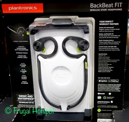 Plantronics BackBeat FIT Wireless Sport Headphones at Costco