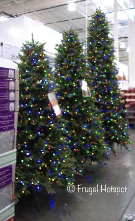 Pre-Lit LED Tree Surebright Dual Color EZ Connect | Costco Christmas Decor 2019