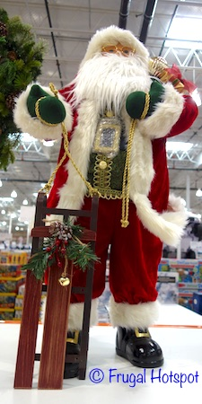 Santa with Sled 36 Inch | Costco Christmas Decorations 2018