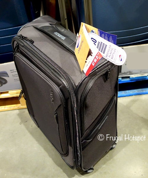 Costco Display of American Tourister AT GO 2! Softside Spinner Carry-On