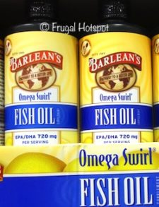 Barlean's Omega Fish oil Lemon Zest Swirl 24 oz at Costco