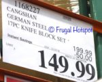 Costco Sale Price: Cangshan S1 Series 17-Piece Cutlery Set Knives