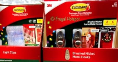 Command Holiday Hooks and Clips at Costco