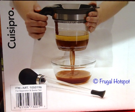 Cuisipro Fat Separator and Baster at Costco