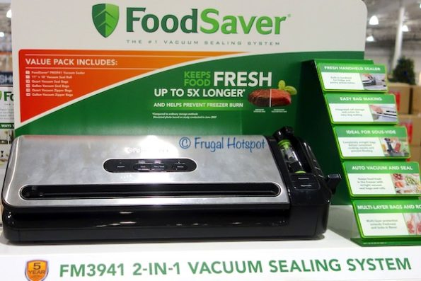 FoodSaver FM3941 Vacuum Sealing System at Costco