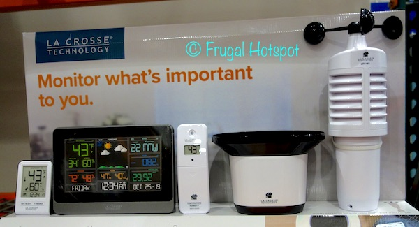 Costco Display: La Crosse Technology Wi-Fi Professional Weather Station