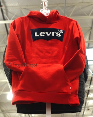 Levis Youth logo Hoodie at Costco
