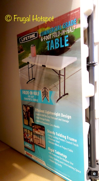 Lifetime Commercial Grade 6-Foot Fold-in-Half Table at Costco