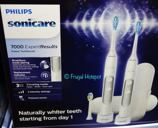 Philips Sonicare 7000 ExpertResults Power Toothbrush 2-Pack at Costco