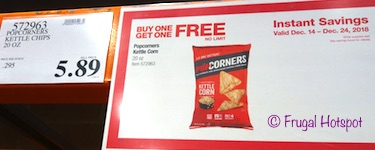 Popcorners Kettle Chips at Costco