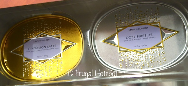 Simply Indulgent Luxury Fragrance Soy Candles 2-Pack at Costco