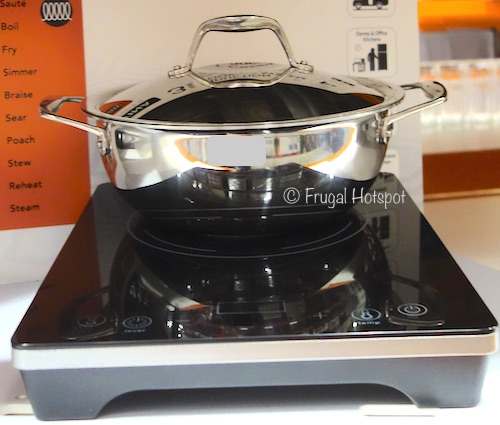 Costco Display: Tramontina 3-Piece Induction Cooking System