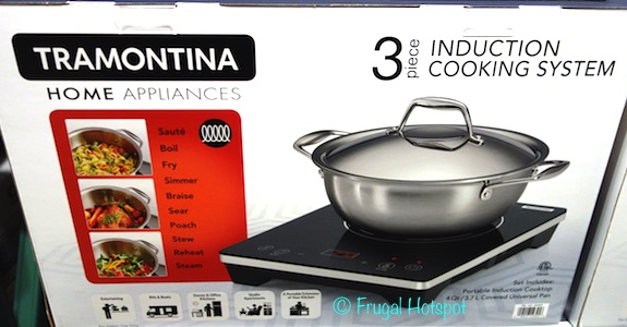 Tramontina 3-Piece Induction Cooking System at Costco
