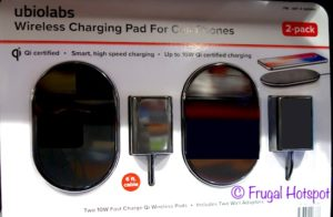 Ubiolabs Wireless Charging Pad for Cell Phones at Costco