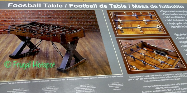Costco: Well Universal Foosball Table