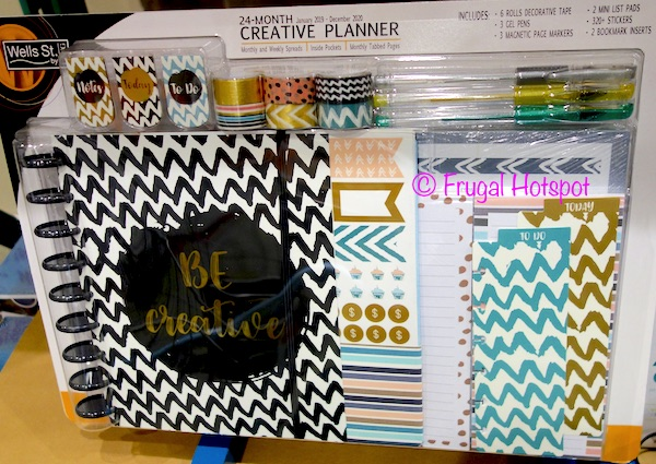 Wells St. by Lang 24-Month Creative Planner at Costco
