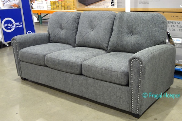 Convertible Sofa Futon Costco Kyra Fabric Sectional With