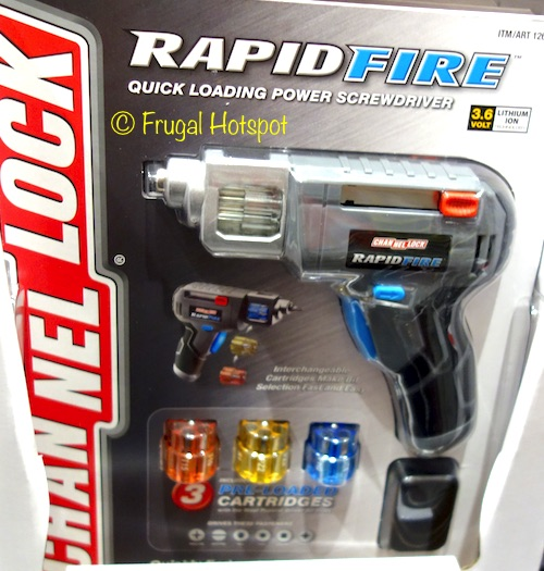 Channel Lock Rapid Fire Quick Loading Power Screwdriver at Costco
