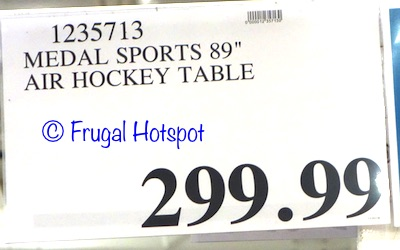 """MD Sports 89"""" Air Hockey Table Costco Price"""