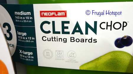Neoflam Clean Chop 3-Piece Cutting Boards at Costco