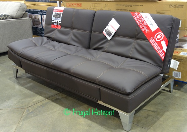 Costco Display: Relax A Lounger Jeneva Bonded Leather Euro Lounger