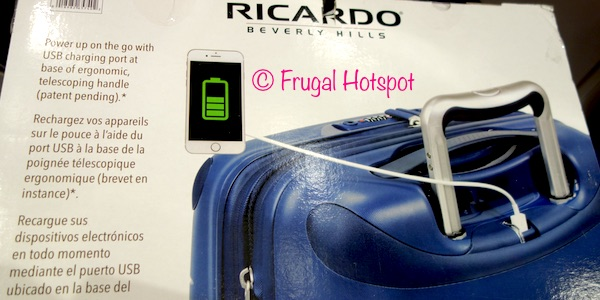 Ricardo Beverly Hills Contour 2-Piece Hardside Luggage Set at Costco