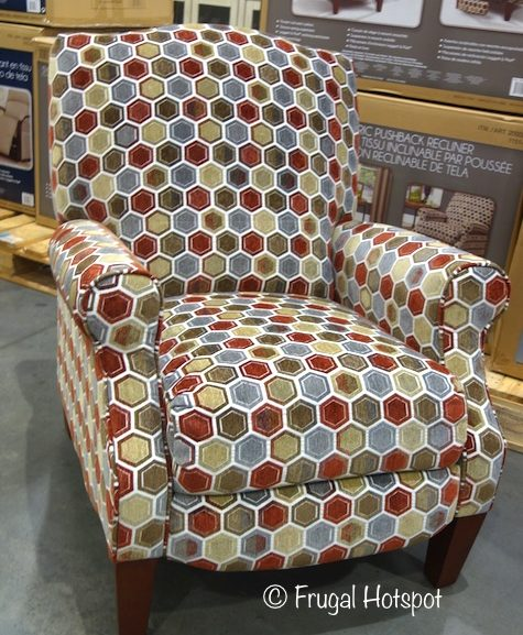Costco Sale: Synergy Home Brooke Fabric Pushback Recliner $239.99
