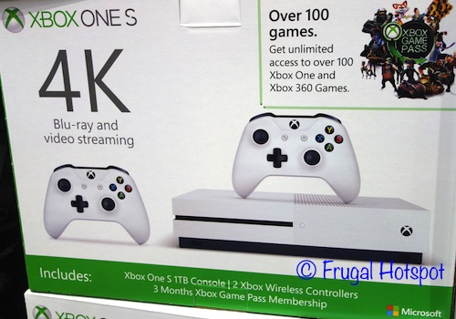 Xbox One S 1TB Bundle at Costco