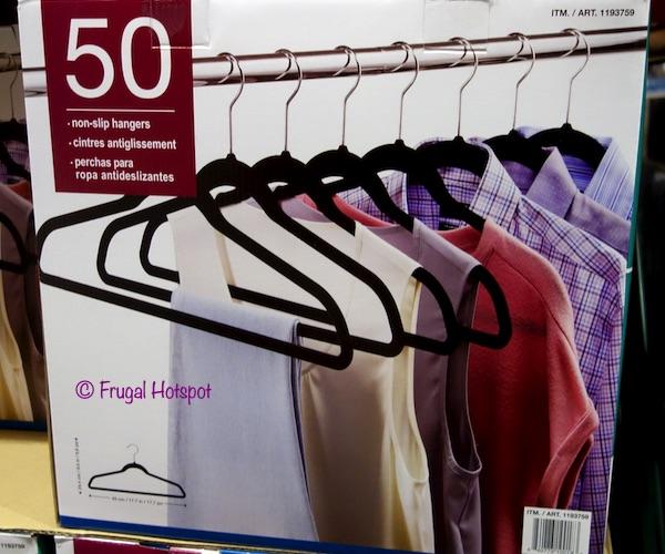 50 Non-slip Hangers Costco
