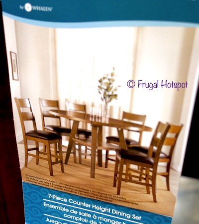 7 Piece Square Counter Height Dining Set