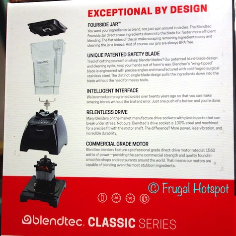 Blendtec Classic 575 Blender with Fourside Jar at Costco