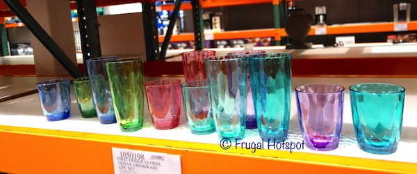 First Design Global Tritan Drinkware 12-Piece Set at Costco