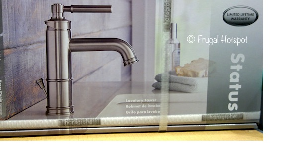 Costco Sale: Hansgrohe Status Bathroom Faucet $59.99