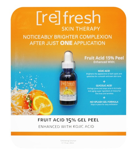 Refresh Skin Therapy Fruit Acid 15% Gel Peel 1 oz. at Costco