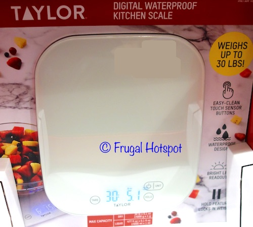 Taylor Digital Waterproof Kitchen Scale at Costco