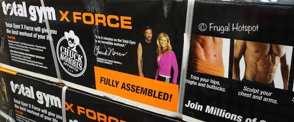 Total Gym X Force at Costco