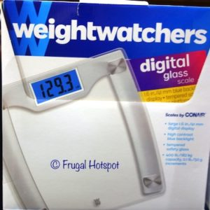 Weight Watchers Digital Glass Scale at Costco
